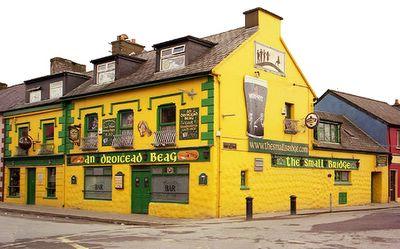 Taberna típica irlandesa