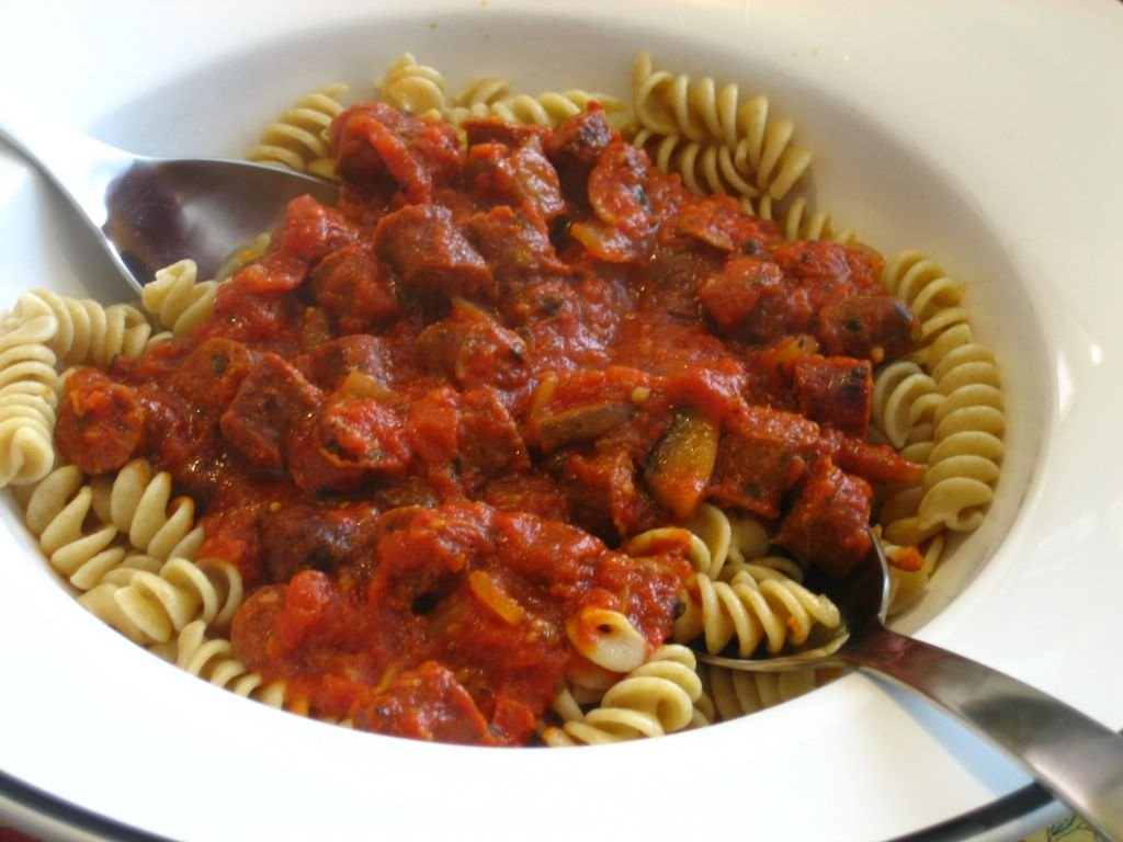 Lamb Merguez Pasta - the Recipe
