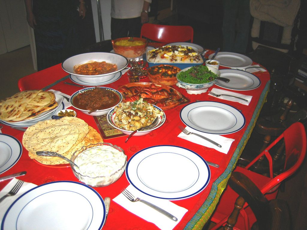 Indian Menu Ideas For Dinner Party Part - 43: Once Upon A Feast - Every Kitchen Tells Its Stories: Indian Feasting -  Quite The Party!
