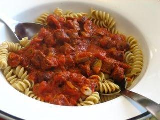 Lamb Merguez Pasta - the Recipe