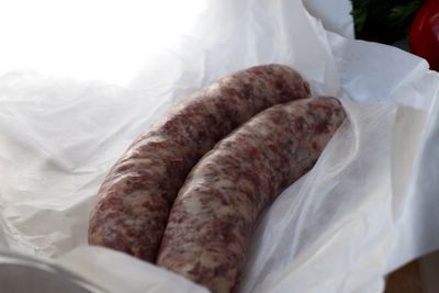 2006 photograph picture of fatted calf toulouse sausages