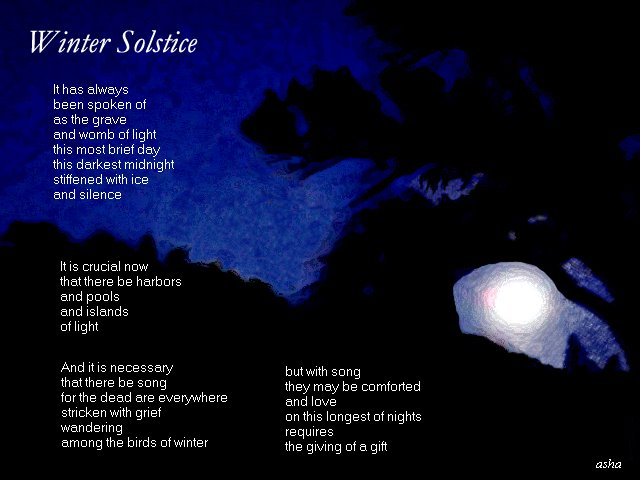 Winter Solstice Quotes Poems