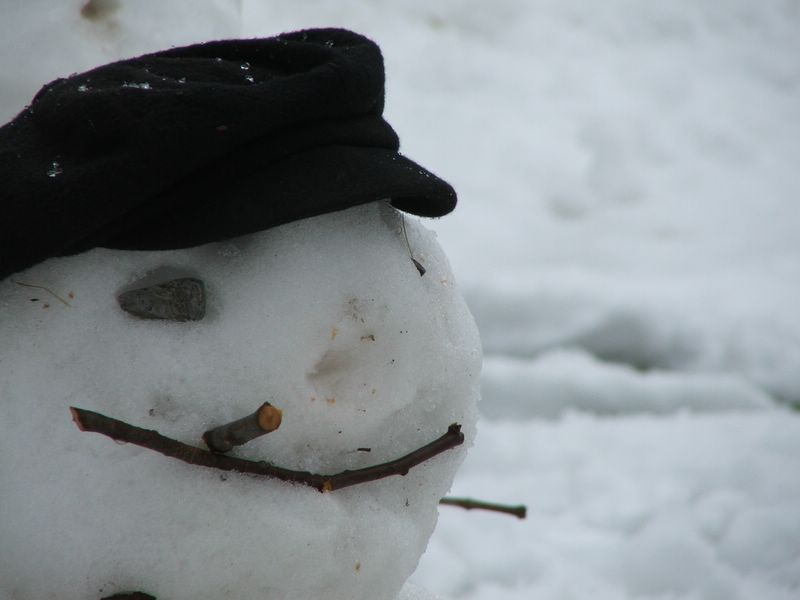 That's Mr Frosty to you!!!