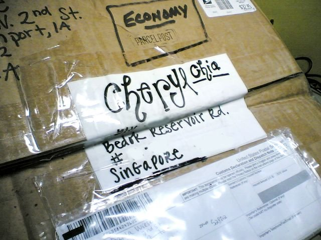 a lovely parcel