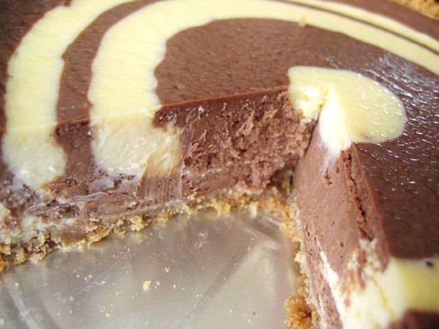 Bulleye Cheesecake side view