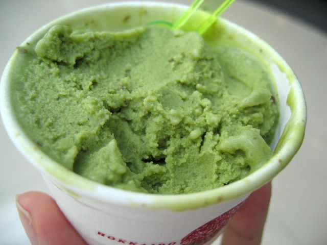 greentea redbean icecream