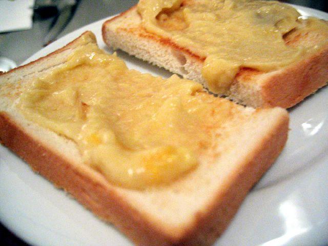 durian toast