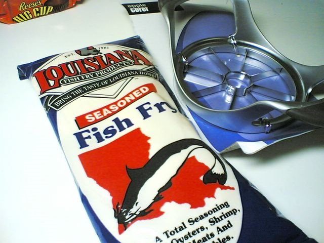 Fish Fry and Apple Corer