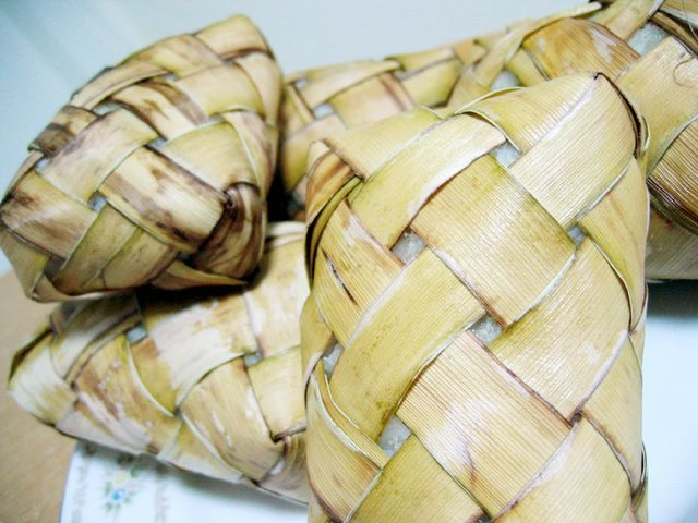 Hainanese wrapped rice