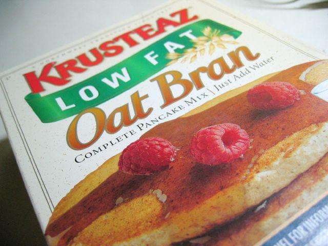 Krusteaz Oatbran Pancakes