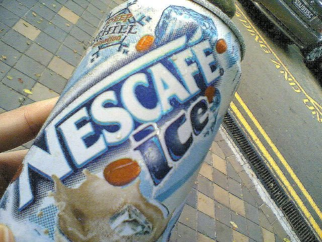Canned Nescafe Ice
