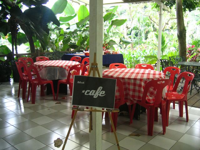 Cafe all set to go
