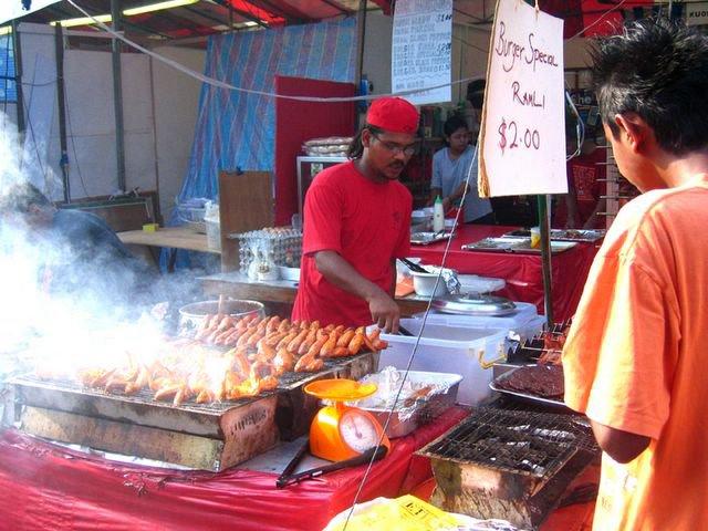 Street Stalls at Geylang Serai