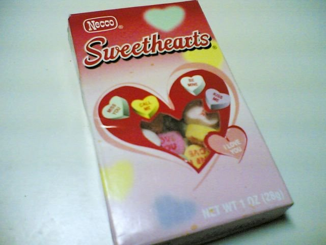 Sweetheart Candy Box