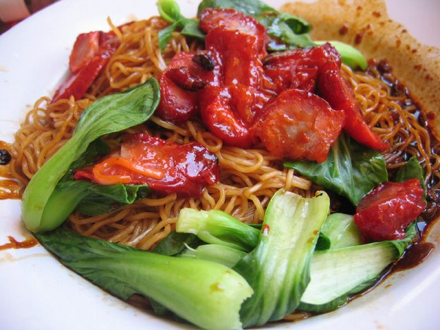 Yummy Wanton noodles at Joo Chiat
