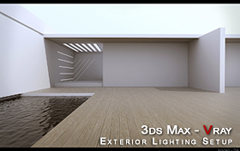 3ds max vray tutorial exterior lighting setup by hao ke le