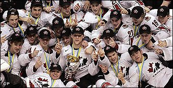 Canada Wins 2006 World Junior Title Destroyed Russia In The Final On Thursday Night And Took Home GOLD With A 5 0 Victrory