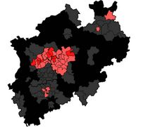 CDU und SPD: absolute (dark color) and relative (light) constituency gains