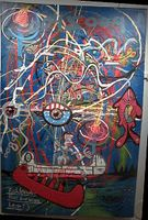 Large acrylic painting on canvas, displayed at the Two Rivers Gallery in minneapolis.  Painted by Eric Keast.