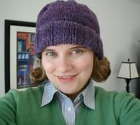 The Purple Molly Hat
