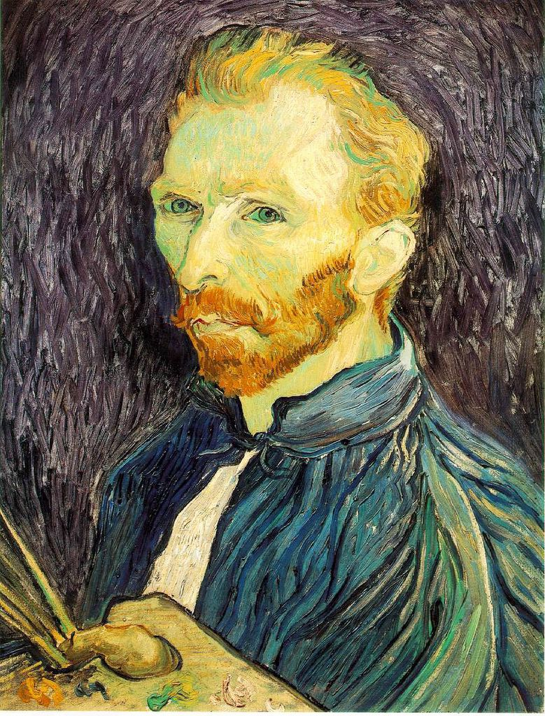 Artist Self Portraits: vincent-van-gogh-self-portrait