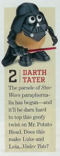 Photo: Entertainment Weekly. The Forks Be With You!