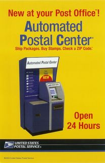 Hey!  Let's raise the postage, and apply the cash to a USELESS machine!