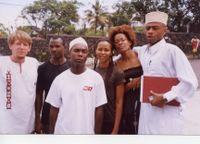 A trupe cabo-verdiana em Moroni, capital de Comoros