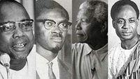 Cabral, Lumumba, Mandela, Nkrumah