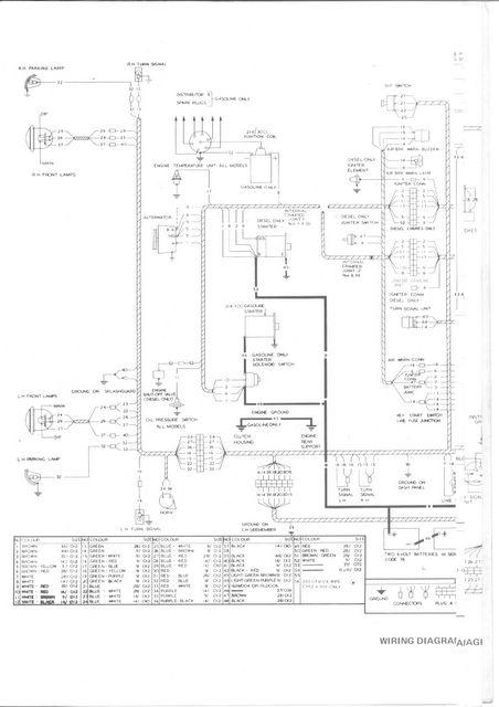 bedford tj wiring diagram