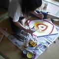 Yoko at work