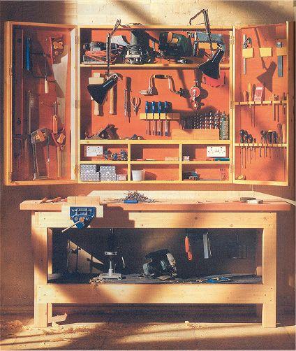 Инструментальная мебель своими руками