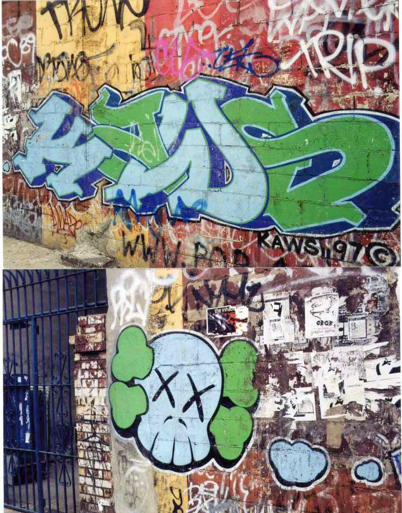 Kaws Graffiti