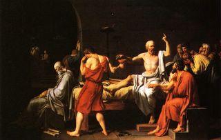 David - Julgamento e Morte de Sócrates