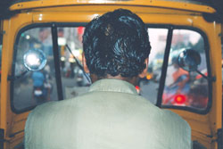 First Auto-rickshaw ride