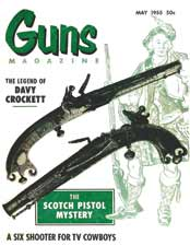 GUNS Magazine: May 1955 Issue