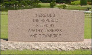 Will This Be Our Epitaph?