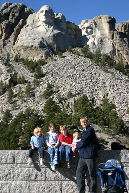 Mt. Rushmore: The Four Liberty Presidents by Kate