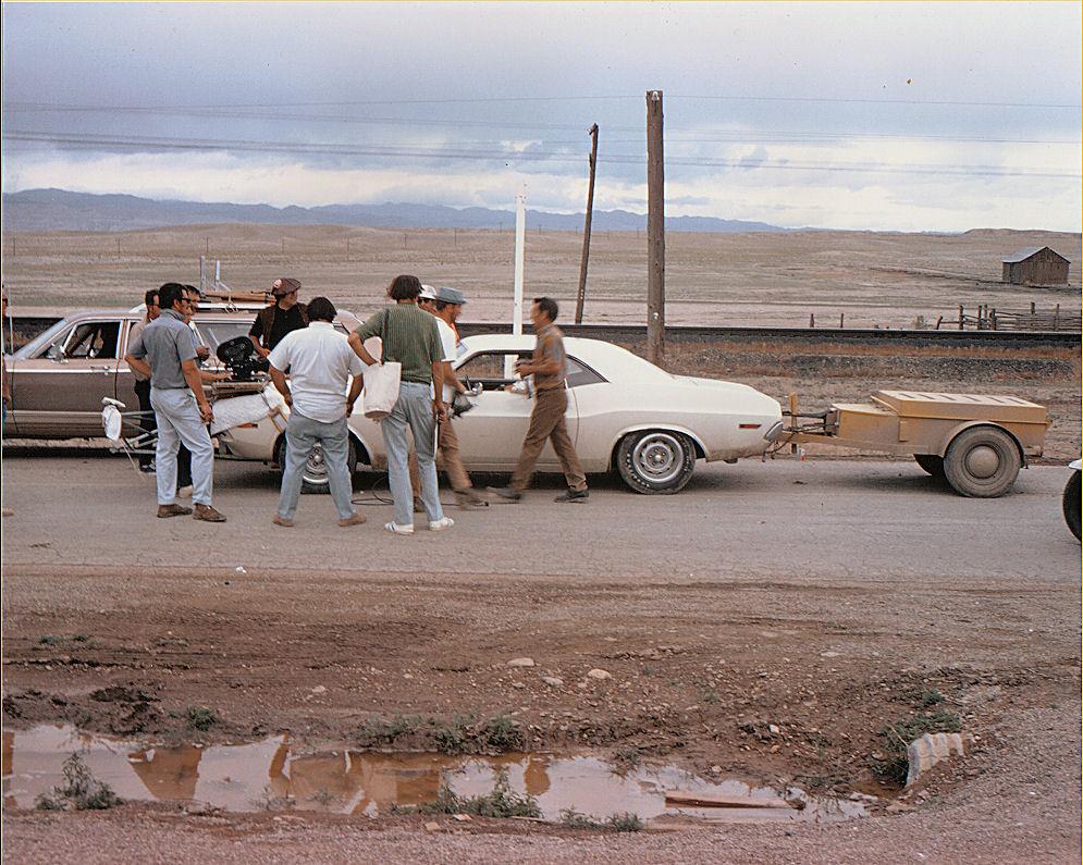 Ghost Town Cisco Utah Vanishing Point 1970 Behind