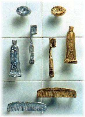Knobs, Hinges and More Decorative Hardware: Michael Aram -Bathroom ...