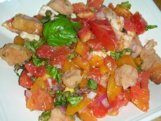 Another delicious take on panzanella