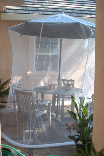 Umbrella Mosquito Net For Single Bed