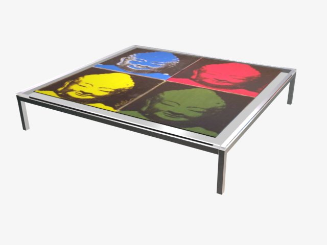 obiyoo 39 s open source weblog for furniture design buddha pop art coffee table. Black Bedroom Furniture Sets. Home Design Ideas
