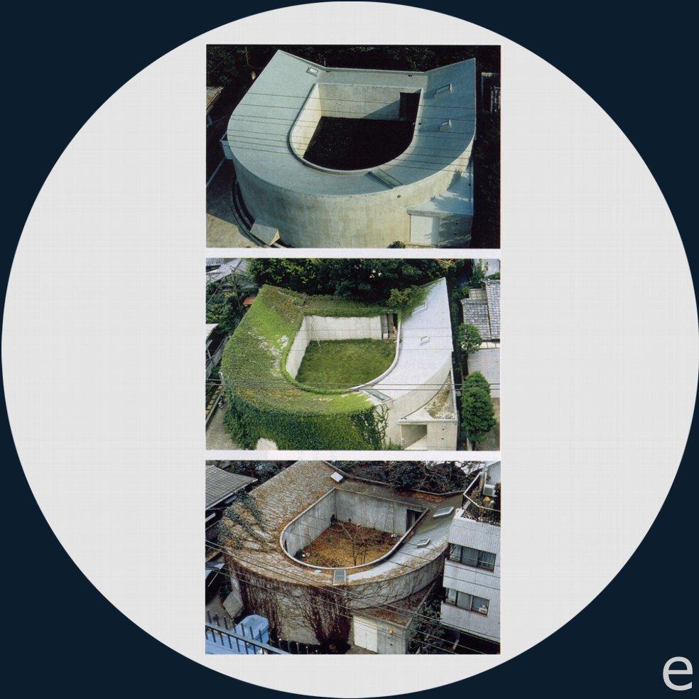 Historias de casas la casa u de toyo ito for Casa a forma di u con cortile