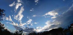 Grandangolare sul cielo
