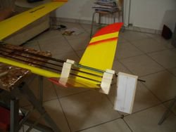 Incidenziometro sulla coda del Blade