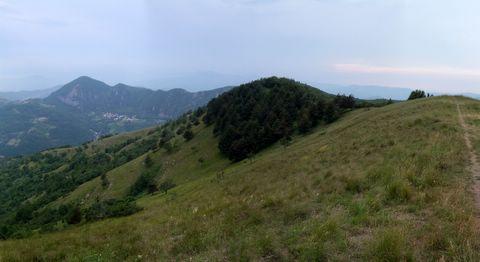 Panorama pendio di Proventino