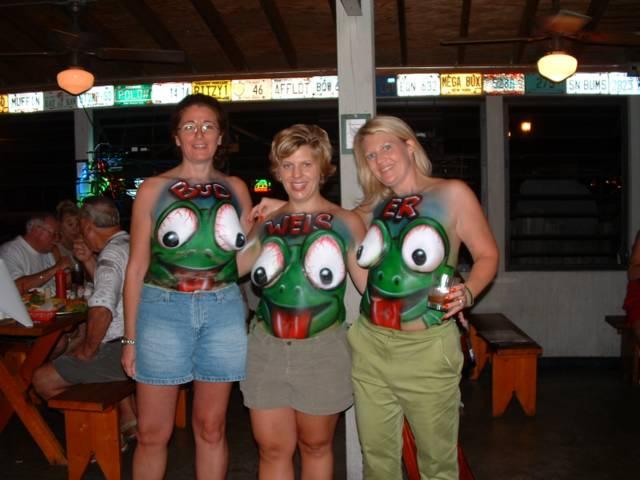 Boob budweiser frog