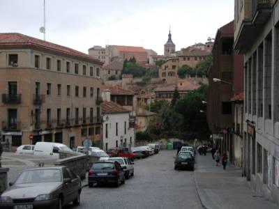 Segovia street scene [1]