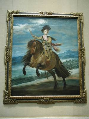 The Infant Prince Baltasar Carlos Riding a Horse (Velázquez)